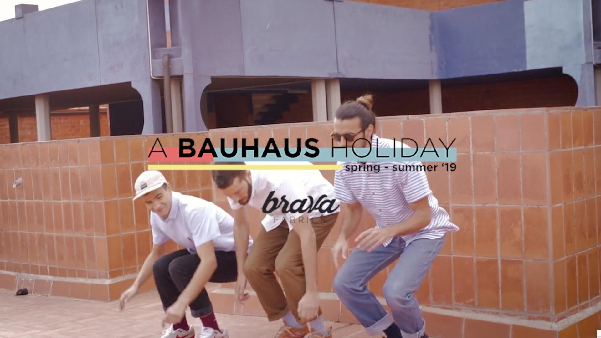 "Brava Fabrics ""Bauhaus"" Campaign by videographer Beatriz Janer. | 8AM artist management"