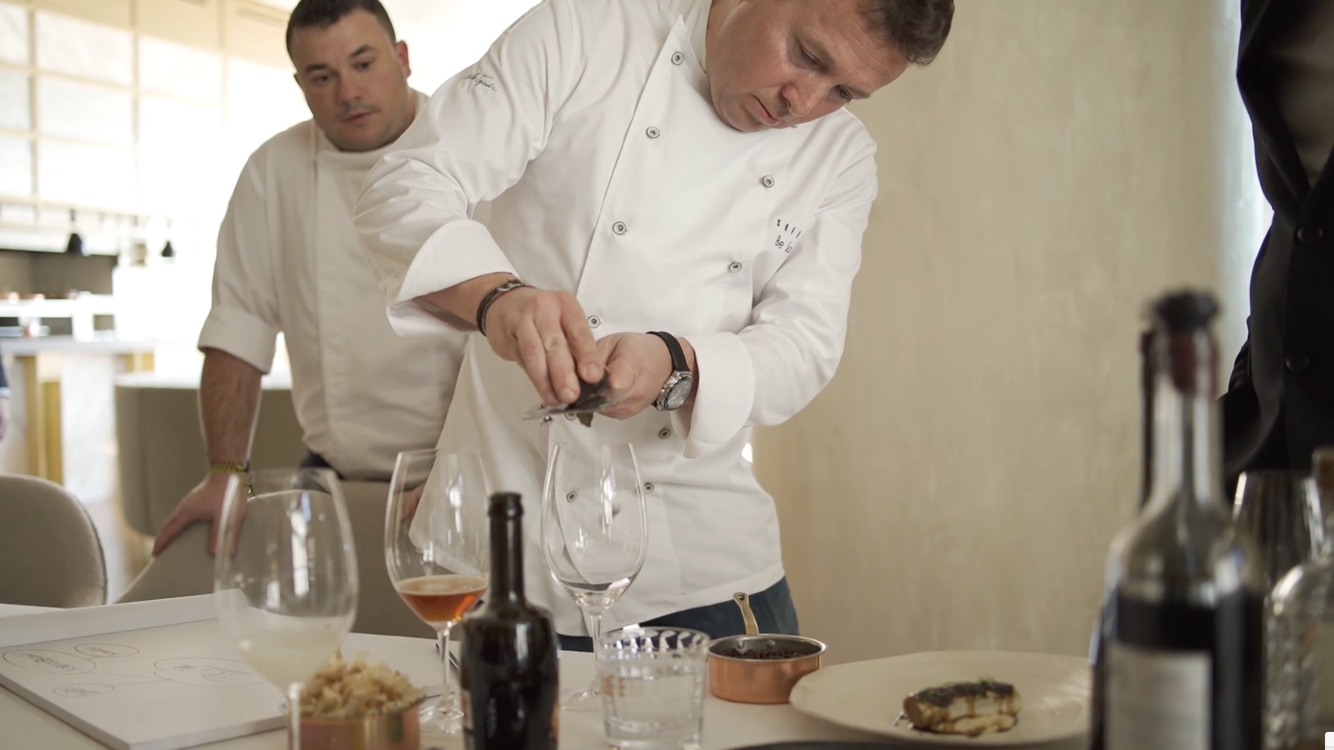 Sofia Be So Restaurant by videographer Beatriz Janer | 8AM artist management