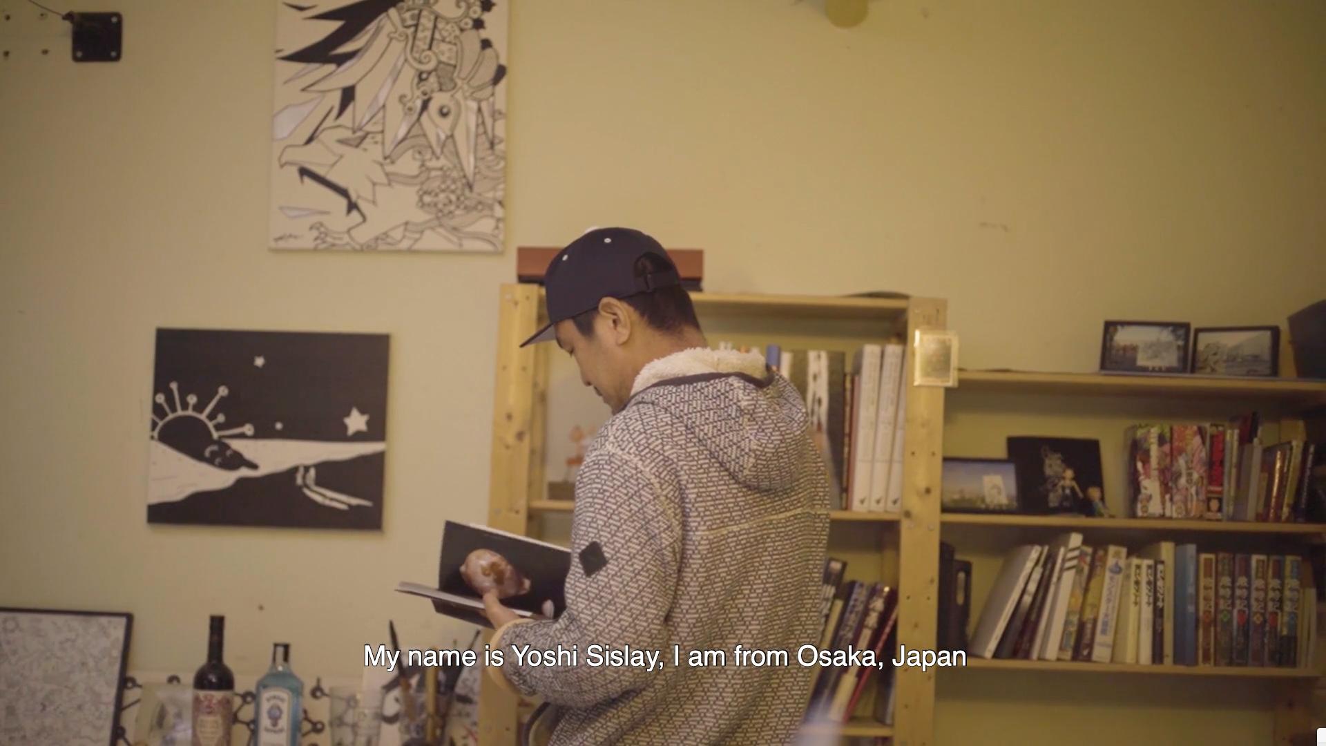 Yoshi Sislay for Yurbban Hotels by videographer Beatriz Janer | 8AM artist management