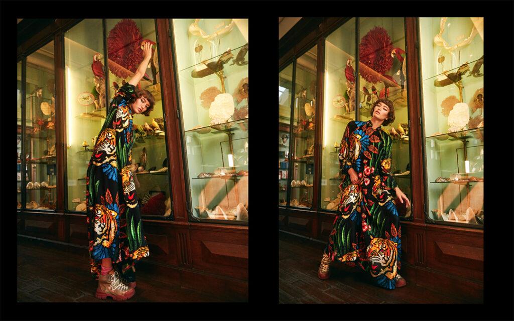 Gucci x Harper's Bazaar - Pedro Quintana - 8 Artist Management