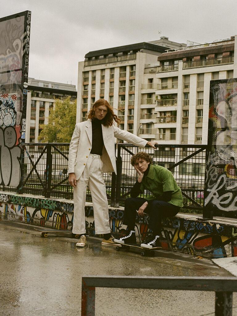 L'Officiel Hommes by stylist Javier de Pardo.   8AM artist management
