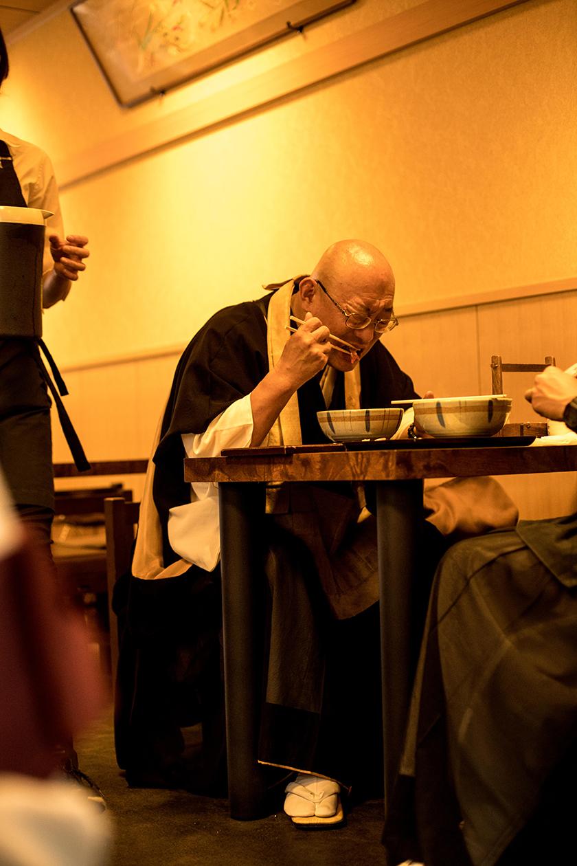 old man in japan - Condé Nast Traveller - Beatriz Janer - 8 Artist Management