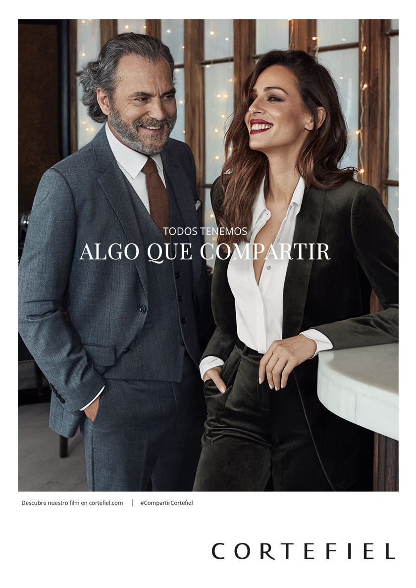 Cortefiel Campaign with actor José Coronado and actress Eva González shot by fashion photographer Xavi Gordo | 8AM artist management