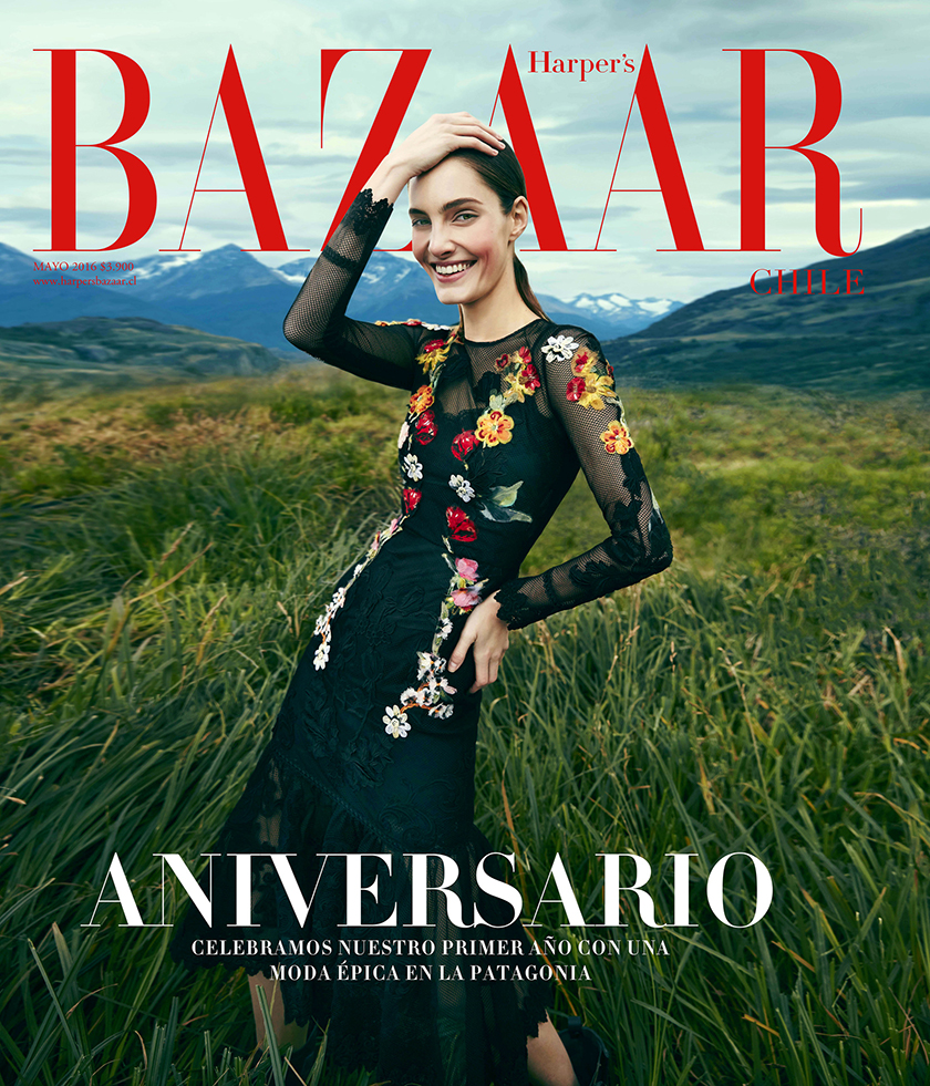Harper's Bazaar Anniversary Cover by Pedro Quintana | 8AM artist management