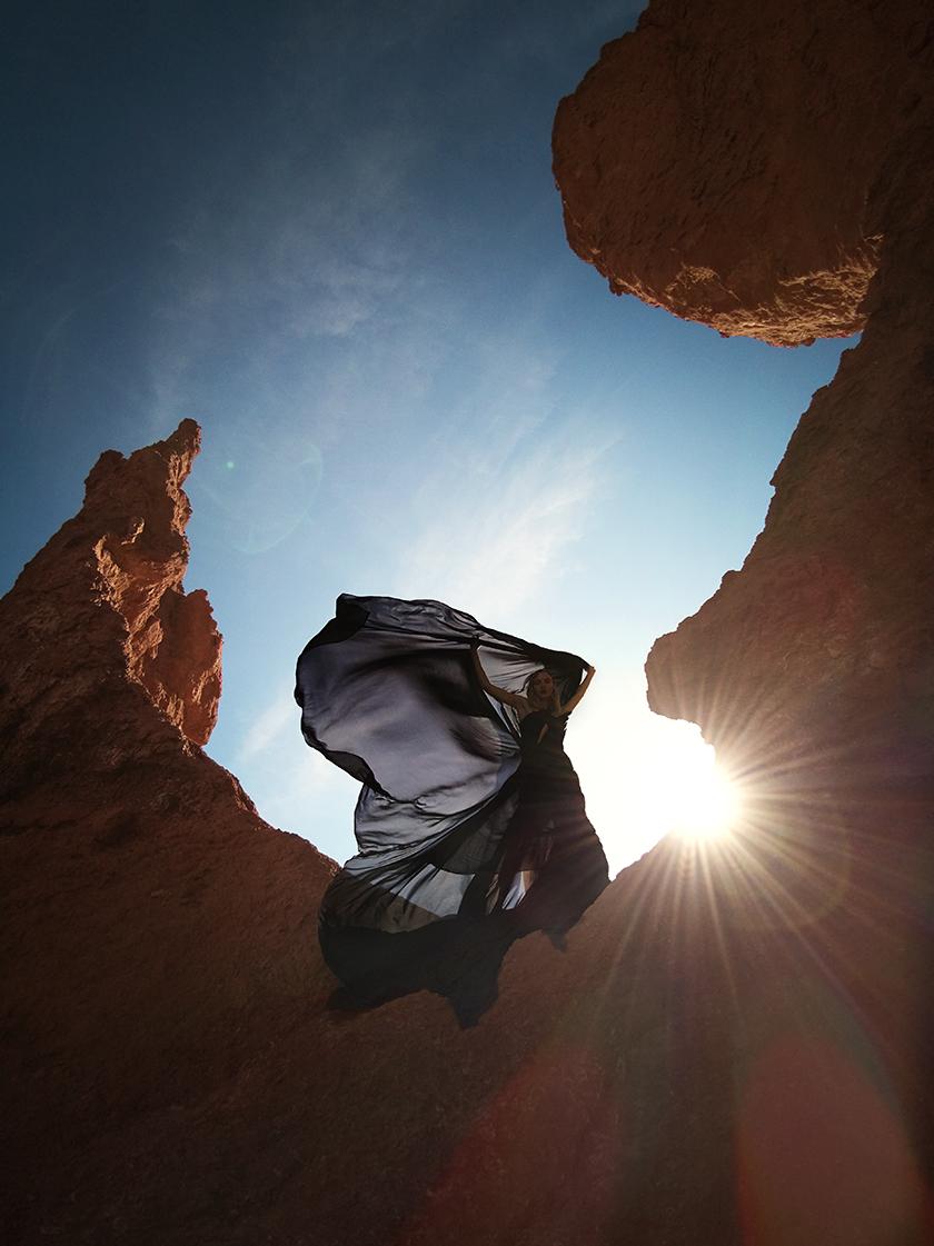 Harper's Bazaar Desert by fashion photographer Pedro Quintana