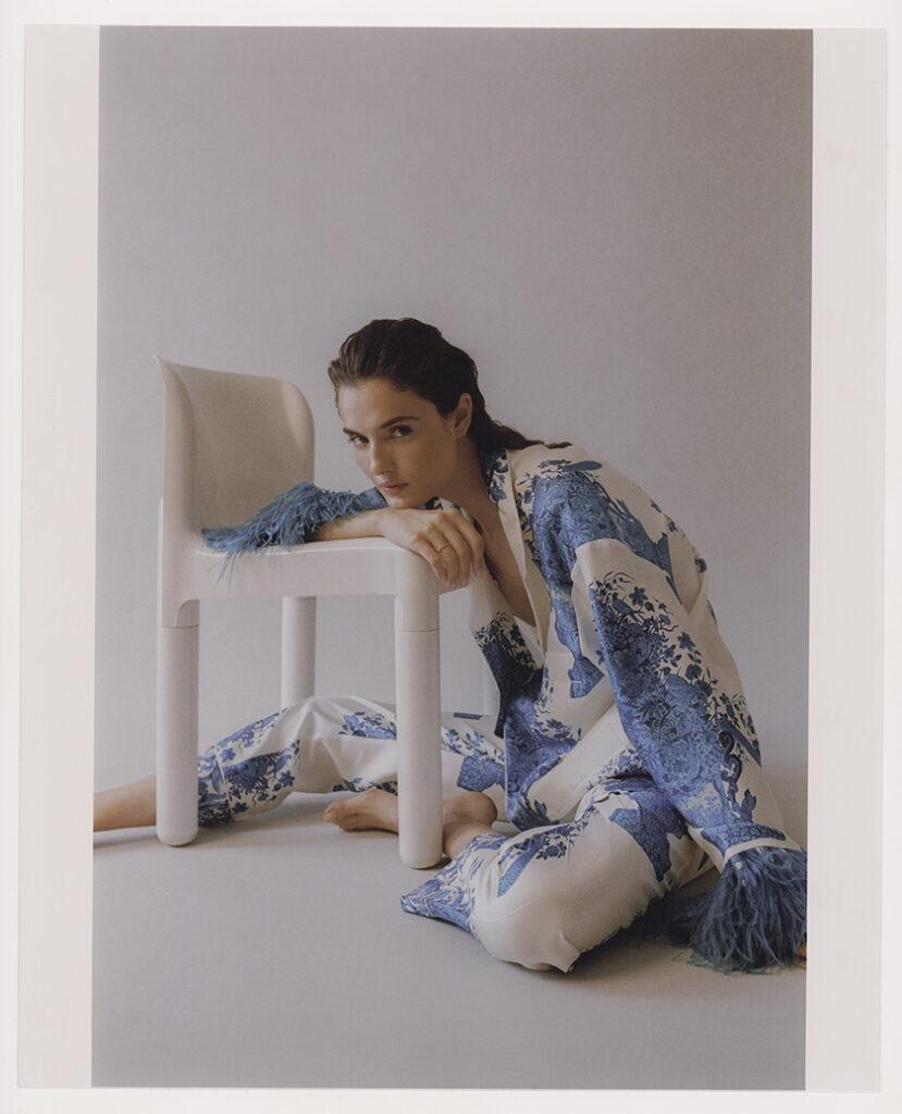 L'Officiel Italy with Blanca Padilla by stylist Javier de Pardo   8AM artist management