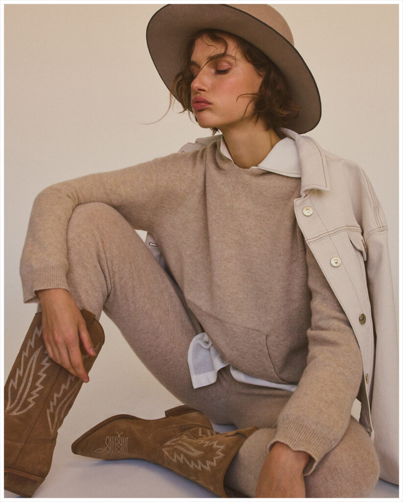 Giedre Dukauskaite shot by Gregory Harris for Massimo Dutti by stylist Miguel Padial.   8AM artist management
