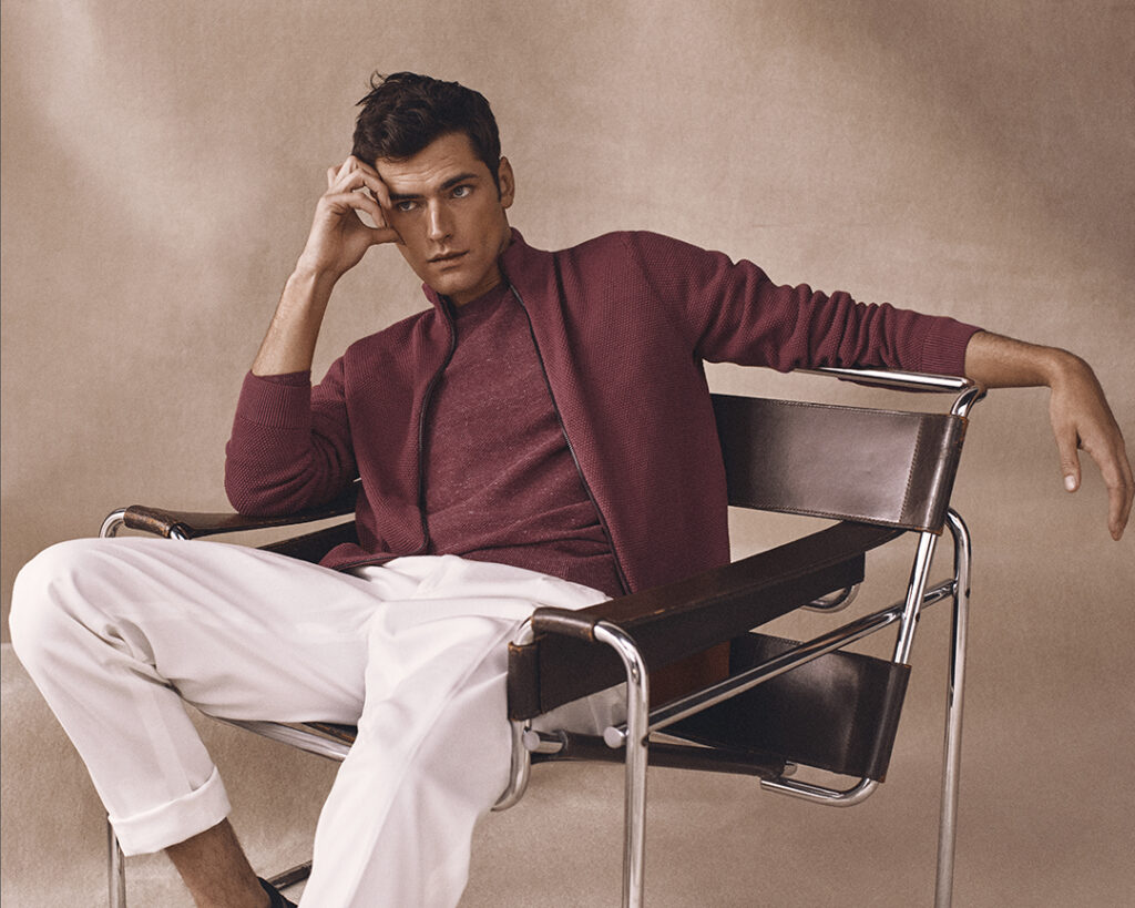 Massimo Dutti Man - Sean O'Pry - Miguel Padial - 8 Artist Management
