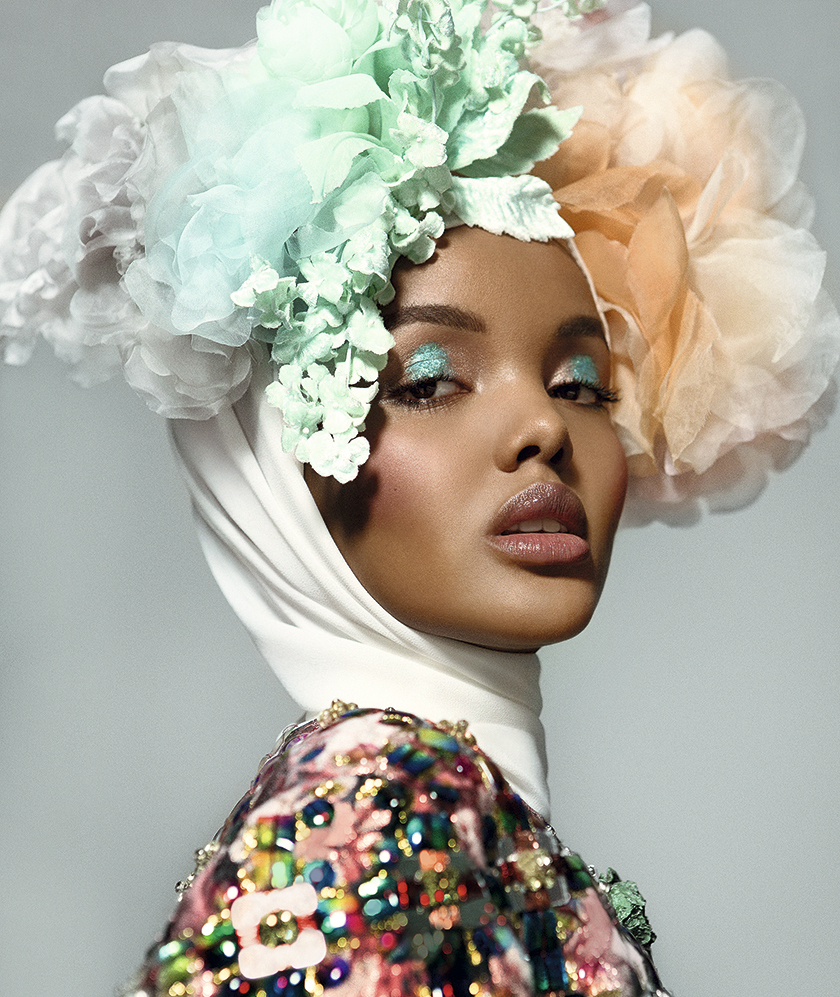 Halima Aden For SModa styled by Francesca Rinciari | 8 Artist Management
