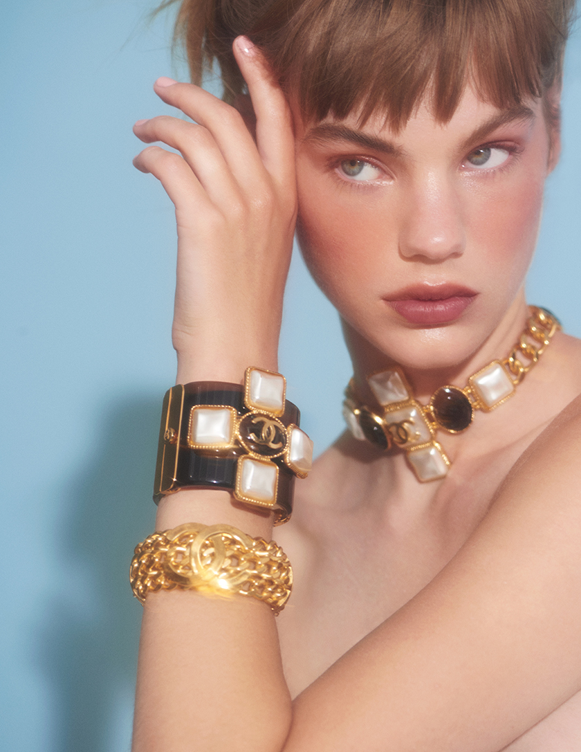 Chanel beauty shots for InStyle Magazine Styled by Francesca Rinciari   8 Artist Management