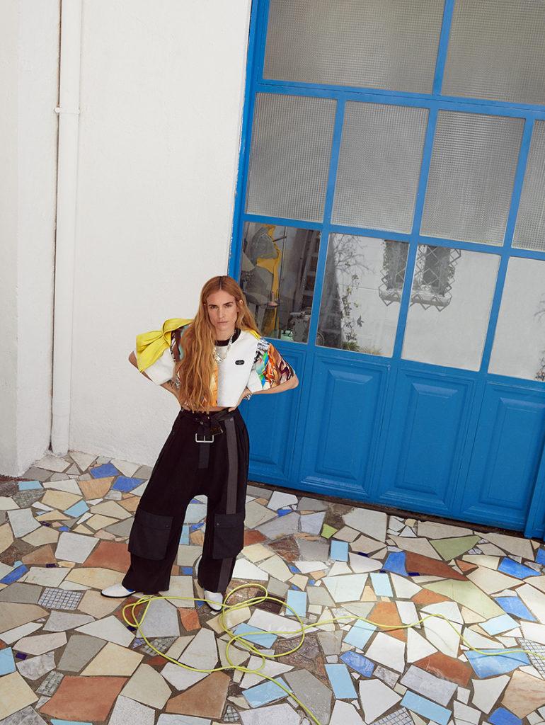 Blanca Miró - Louis Vuitton - In Style - Francesca Rinciari - 8 Artist Management