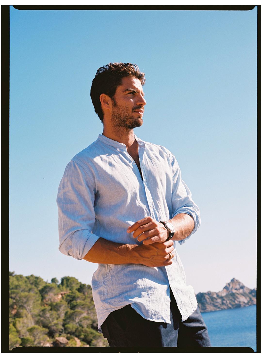 Maxi Iglesias - Condé Nast Traveler - Ibiza - Beatriz Janer - 8AM - 8 Artist Management