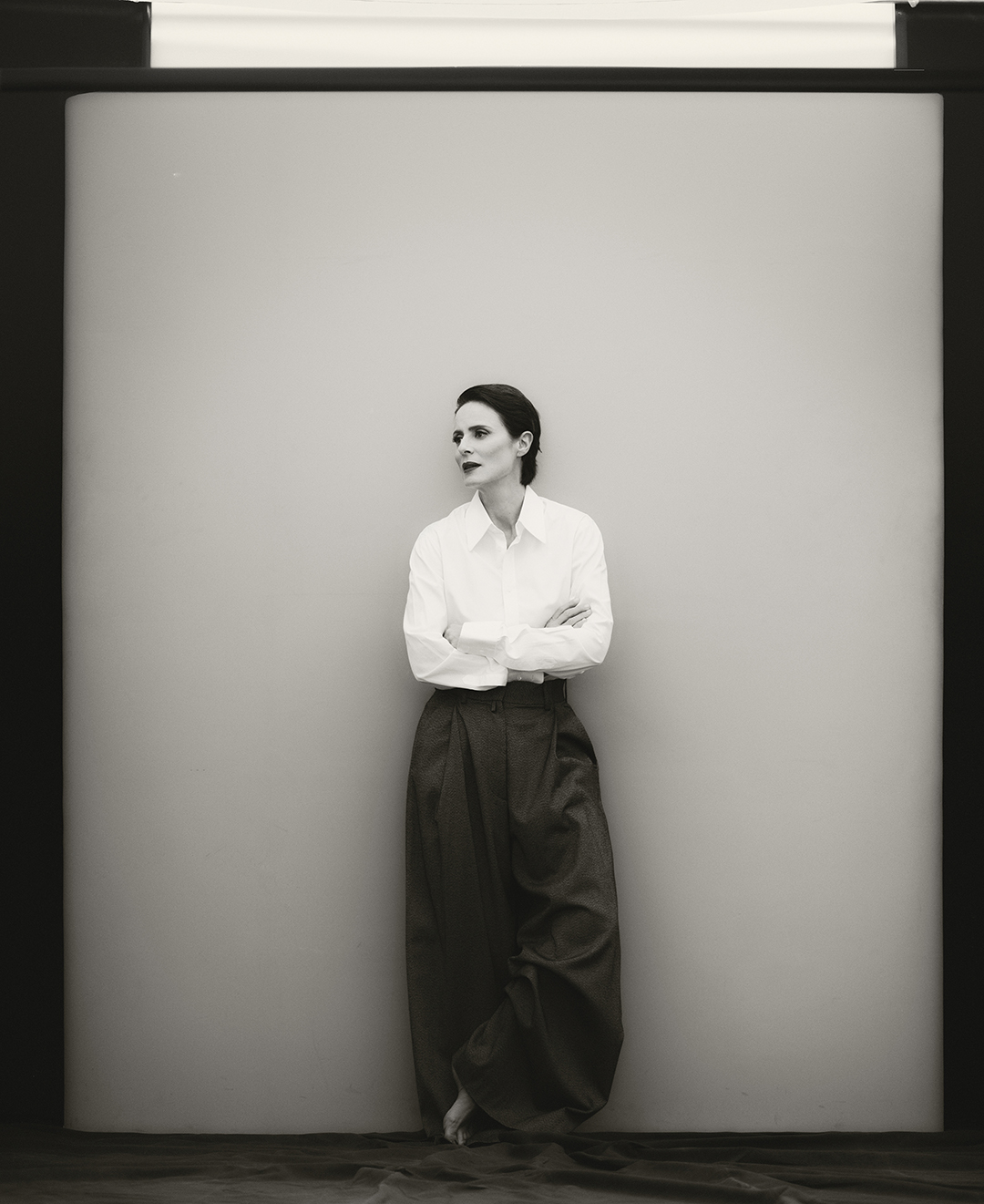 Aitana Sanchez Gijon - Milena Smit - InStyle - InStyle Spain - Francesca Rinciari - Fashion - Editorial - Pedro Almodovar - Madres Paralelas - 8AM - 8 Artist Management